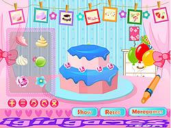 Fruit Strawberry Cake
