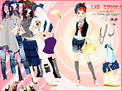 -= Dress Up Sporty Girl