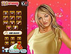 Cameron Diaz Celebrity Makeover Game