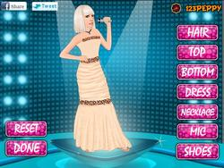 Peppy Lady Gaga Dressup