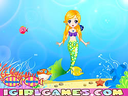 Pretty Little Mermaid Princess