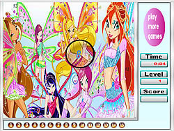 Butterfly Girls Hidden Numbers