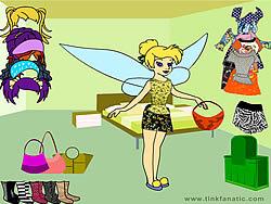 Tinkerbell Dress up 2