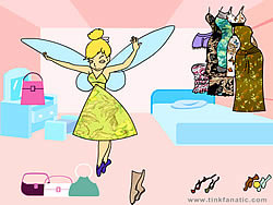 Tinkerbell Dress up 8