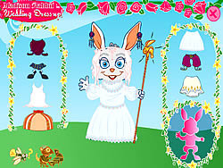 Madison Rabbit: Wedding Dress up