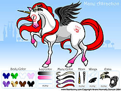Mane Attraction Pony Dress up