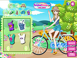 Fashionable Bike Ride