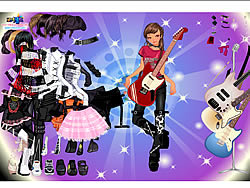 Rock Girl Dress Up
