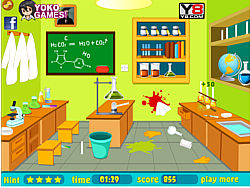 Clean Up My Laboratory