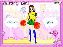 Victory Girl Dressup