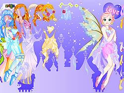 Purply Fairy Dressup