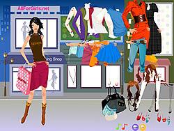 Hot Fashion Shopping Girl