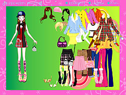 Colorful Fashion Dressup