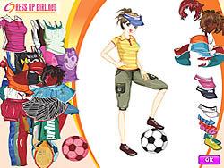 Sporty Girl Dressup