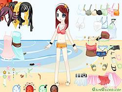 Beach Doll Dressup