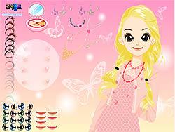 Girl Butterfly Make Up