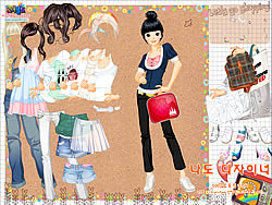 Shopping Girl 4 Dress Up