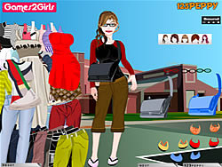 Jessica College Girl Dressup