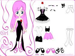 Kiss Doll Dress Up