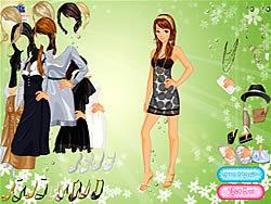 Society Lady Dressup