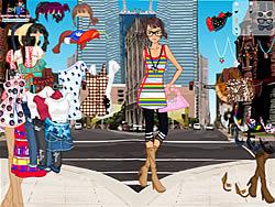 Manhattan Shopping Girl