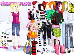 Casual Girl Dressup